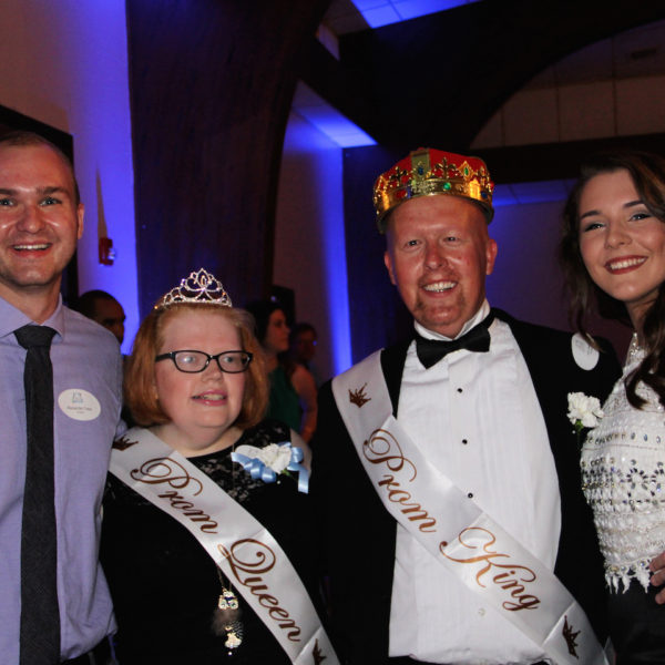 King & Queen 2017 with dates